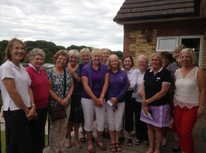 Foursomes Meeting Prize Winners