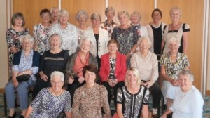 Hayling Ladies celebrate Past Captains' Lunch with guest of honour, Biddy Benson