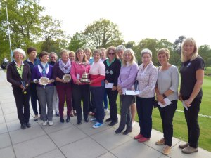 Foursomes Championship Prize Winners