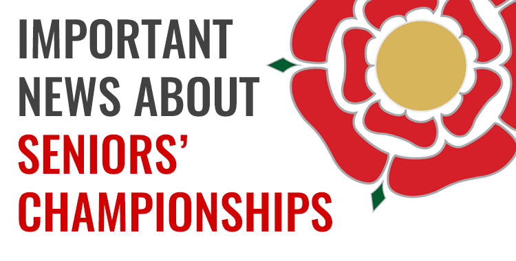 Important News About Seniors' Championships